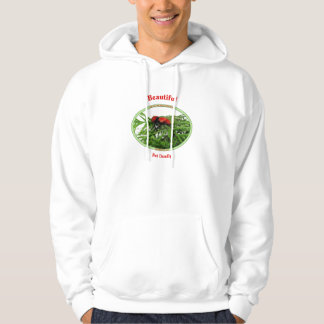 Beautiful But Deadly Cow Killer Wasp Hoodie
