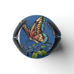 Beautiful Butterflies Art Customizable background Can Cooler