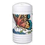 Beautiful Butterflies Art Customizable background Cooler
