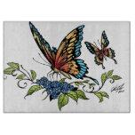 Beautiful Butterflies Art Customizable background Cutting Boards