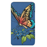 Beautiful Butterflies Art Customizable background Galaxy S5 Pouch