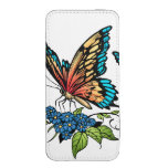 Beautiful Butterflies Art Customizable background iPhone 5 Pouch