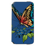 Beautiful Butterflies Art Customizable background iPhone 6/6s Wallet Case