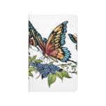 Beautiful Butterflies Art Customizable background Journals