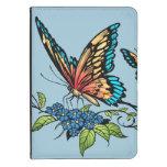 Beautiful Butterflies Art Customizable background Kindle Case