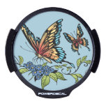 Beautiful Butterflies Art Customizable background LED Car Window Decal