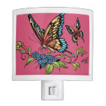 Beautiful Butterflies Art Customizable background Night Lights