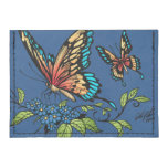 Beautiful Butterflies Art Customizable background Tyvek® Card Case Wallet