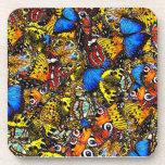 Beautiful Butterflies Beverage Coaster