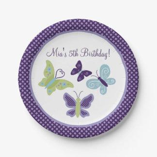 Beautiful Butterflies/Butterfly Party Plates