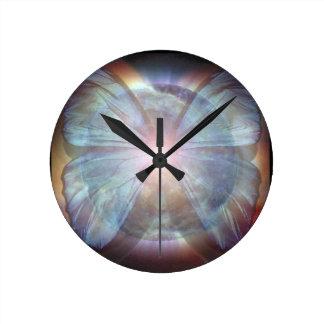 Beautiful Butterflies Round Wall Clock