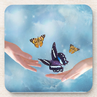 Beautiful Butterflies Coasters