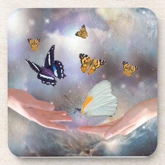 Beautiful Butterflies Coaster