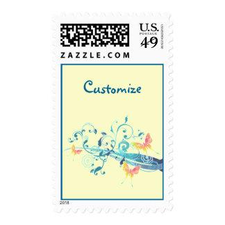 Beautiful Butterflies Designer Postage Stamps
