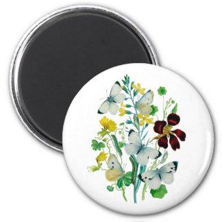 Beautiful Butterflies Fridge Magnet
