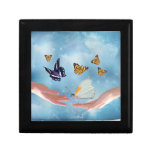 Beautiful Butterflies Keepsake Box