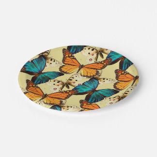 Beautiful Butterflies Paper Plate