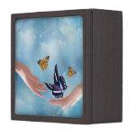 Beautiful Butterflies Premium Trinket Box