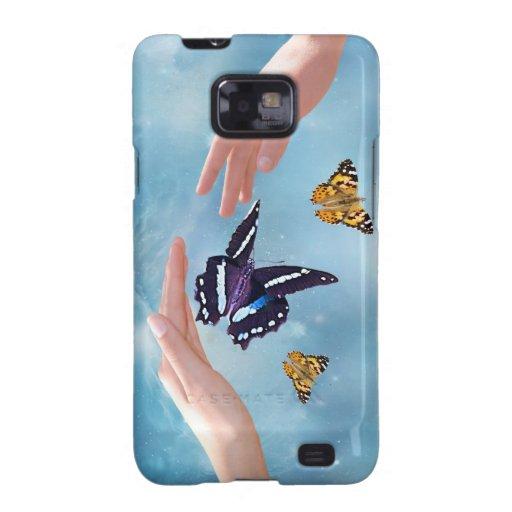 Beautiful Butterflies Samsung Galaxy S Cases