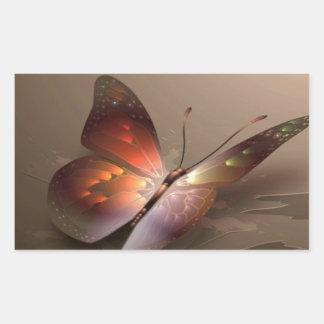 beautiful-butterfly-brown-pattern.jpg rectangular sticker