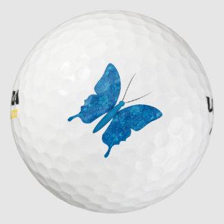 Beautiful Butterfly cartoon sports golf ball