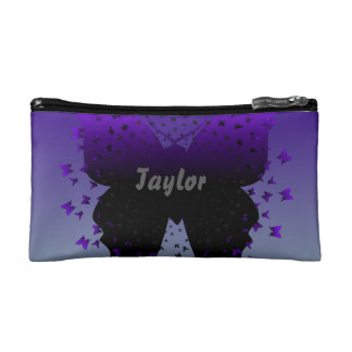 Beautiful Butterfly Cosmetic Bag