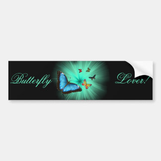 Beautiful Butterfly Journey Bumper Sticker