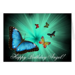 Beautiful Butterfly Journey Happy Birthday Card