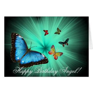 Beautiful Butterfly Journey Happy Birthday Card