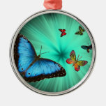 Beautiful Butterfly Journey Christmas Tree Ornament