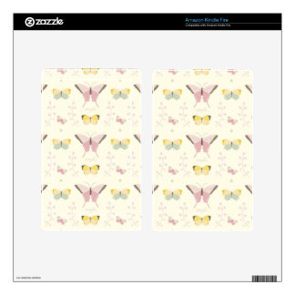 Beautiful Butterfly Kindle Fire Skins
