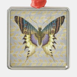 Beautiful Butterfly Metal Ornament