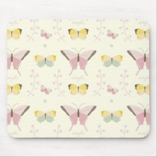 Beautiful Butterfly Mouse Pad
