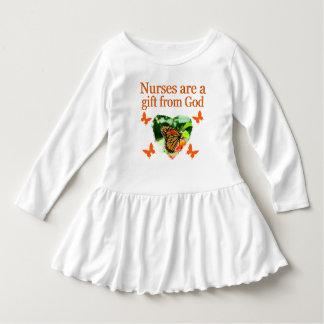 BEAUTIFUL BUTTERFLY NURSING DESIGN INFANT DRESS