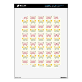 Beautiful Butterfly Pattern Decal For iPad 3