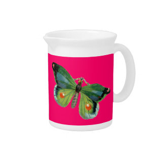 Beautiful Butterfly PItcher
