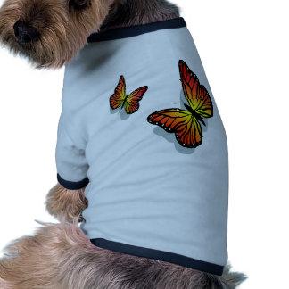 Beautiful Butterfly s Dog Tee Shirt