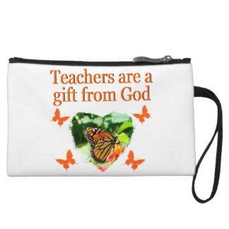 BEAUTIFUL BUTTERFLY TEACHERS PRAYER DESIGN WRISTLET