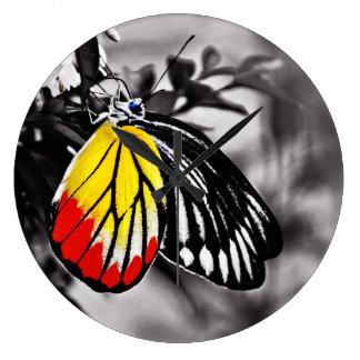 Beautiful Butterfly Wallclocks
