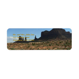 Beautiful Buttes Label