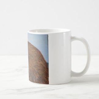 Beautiful buzzard in mountain landscape artworks coffee mug