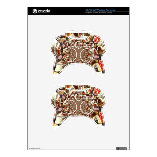 Beautiful Cakes and Desserts Xbox 360 Controller Skin