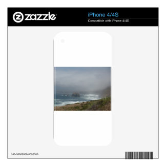 Beautiful California Coast Scenery by the Ocean Decals For The iPhone 4