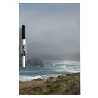 Beautiful California Coast Scenery by the Ocean Dry-Erase Board