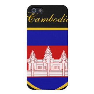 Beautiful Cambodia Flag iPhone SE/5/5s Case