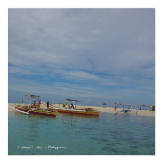 Beautiful Camiguin Island, Philippine-Poster Paper Poster