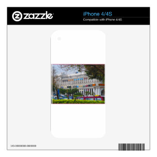 Beautiful cannought place newdelhi capital India Skins For iPhone 4