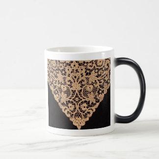 Beautiful Cantu Lace Coffee Mug