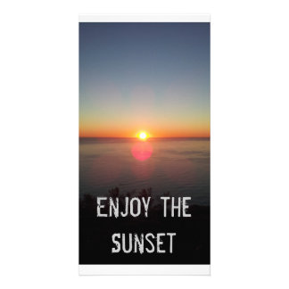 Beautiful Cape Town Sunset Photo Cards
