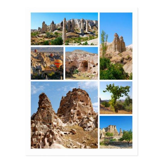 Beautiful Cappadocia postcard